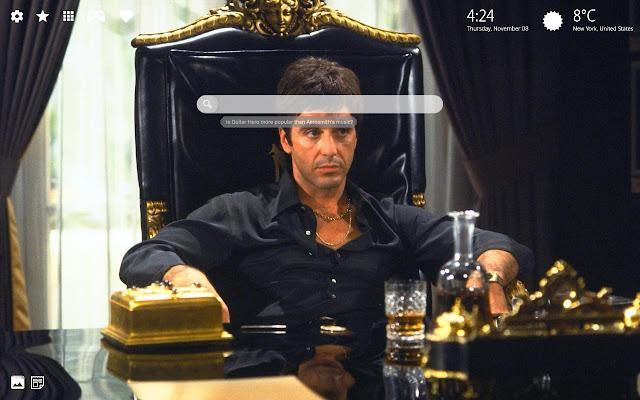 Al Pacino Wallpaper & The Godfather Theme HD