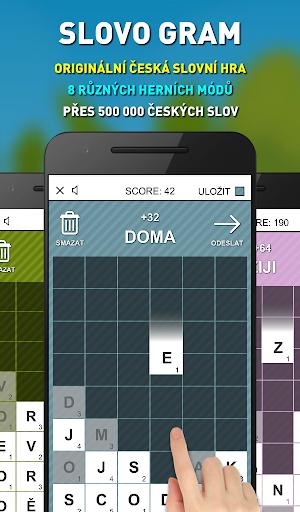 Slovo Gram - u010cesku00e1 Slovnu00ed Hra (verze zdarma) apkmr screenshots 8