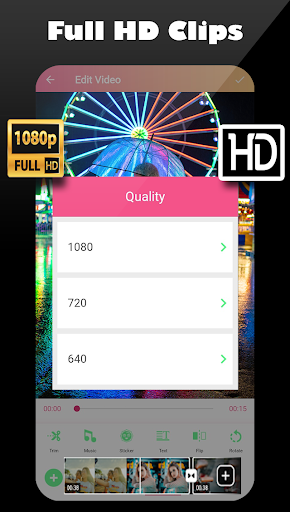 Video star editor ⭐ Pro video & photo editing 2020 screenshot 5