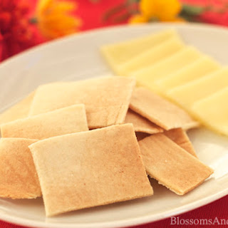 Microwave Almond Crackers – Trim Healthy Mama S