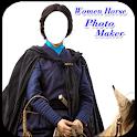 Women Horse Photo Maker icon