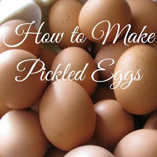 Pickled Eggs White Vinegar Recipes.