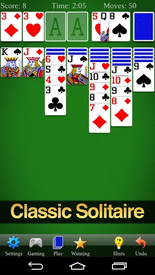 Solitaire- screenshot