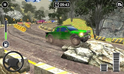 Offroad Extreme 4x4 - Impossible Jeep Driving APK screenshot thumbnail 3