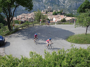 Photo: Hairpin above Greolieres