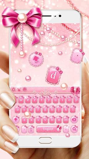 pink pearl keyboard screenshot 1
