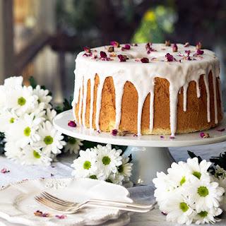Vanilla Rose Chiffon Cake.
