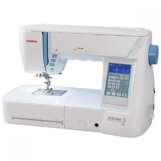 The Janome Skyline S5 170 Stitch Sewing Machine