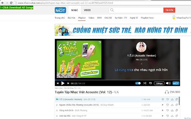 Chia Se Nhac, NhacCuaTui, MP3 Zing Downloader
