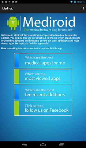 android Mediroid | free medical apps Screenshot 0