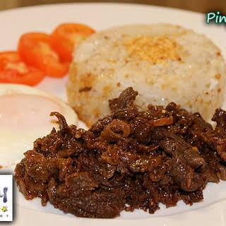 Filipino Beef Tapa Recipe (Cured Beef).