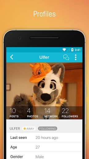 FERZU - Furries Social Network by Grokio LLC (Google Play