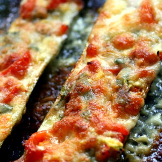Stuffed Courgettes….