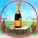 Real Bottle Shooting icon