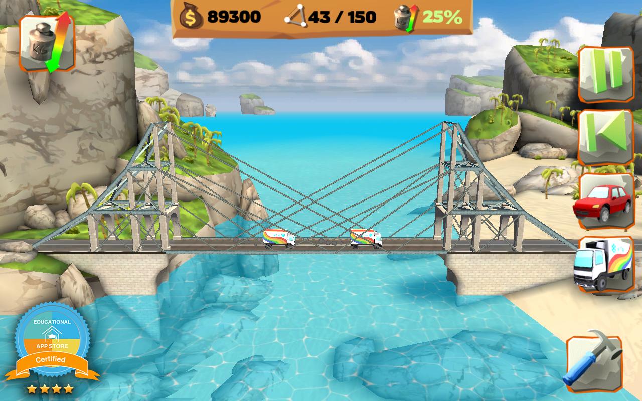 Bridge Constructor Playground screenshot #6