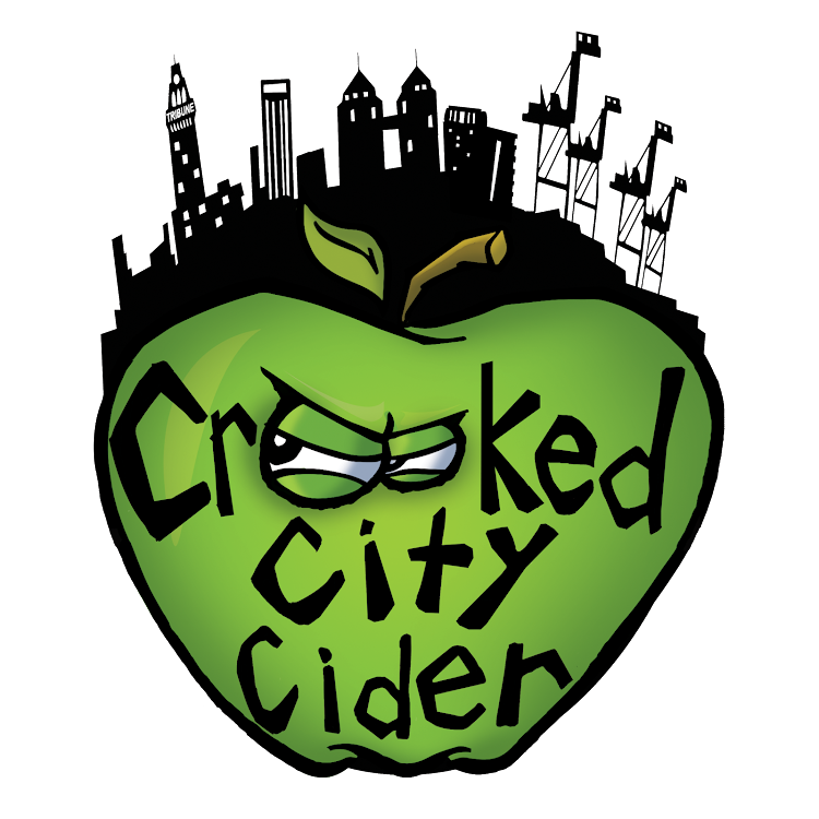 Logo for Crooked City Cider