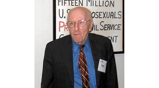 Pionero defensor en EEUU de los derechos de los gays