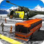 Helicopter Criminals Transporter Simulator