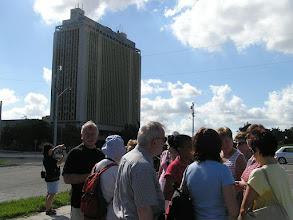 Photo: 5B090039 Hawana - budynek biura politycznego z Raulem Castro