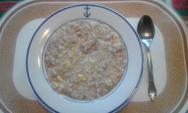 Rice Congee Recipe