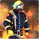 Helicopter Fire & Rescue Icon
