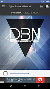 digital boombox network- screenshot thumbnail