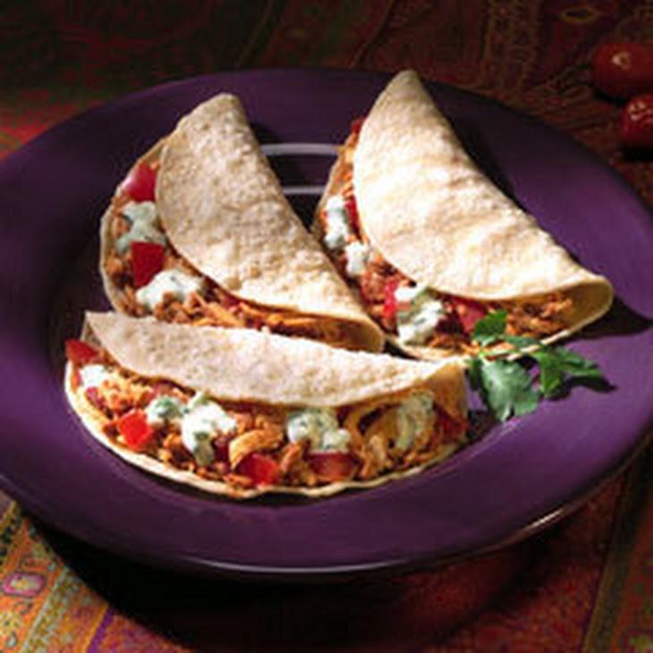 Tacos De Poblano Recipe