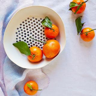Mini Almond Clementine Bundt Cakes with Creme Fraiche Glaze