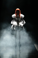 Photo: FashionTV wants to know - What are you dressing up as for Halloween?   Does Alice Auaa's Spring 2013 collection remind you of Halloween?