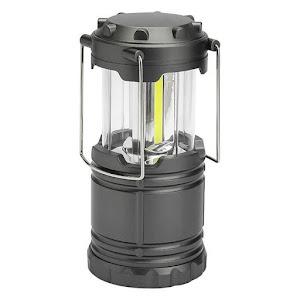 Lanterna pliabila 3 LED, 9 W, gri, 19 cm