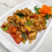 N13. Szechuan Shrimp