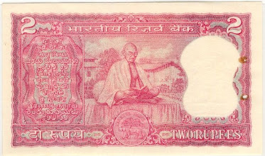 Photo: B9 Reverse Gandhi Centenary issue