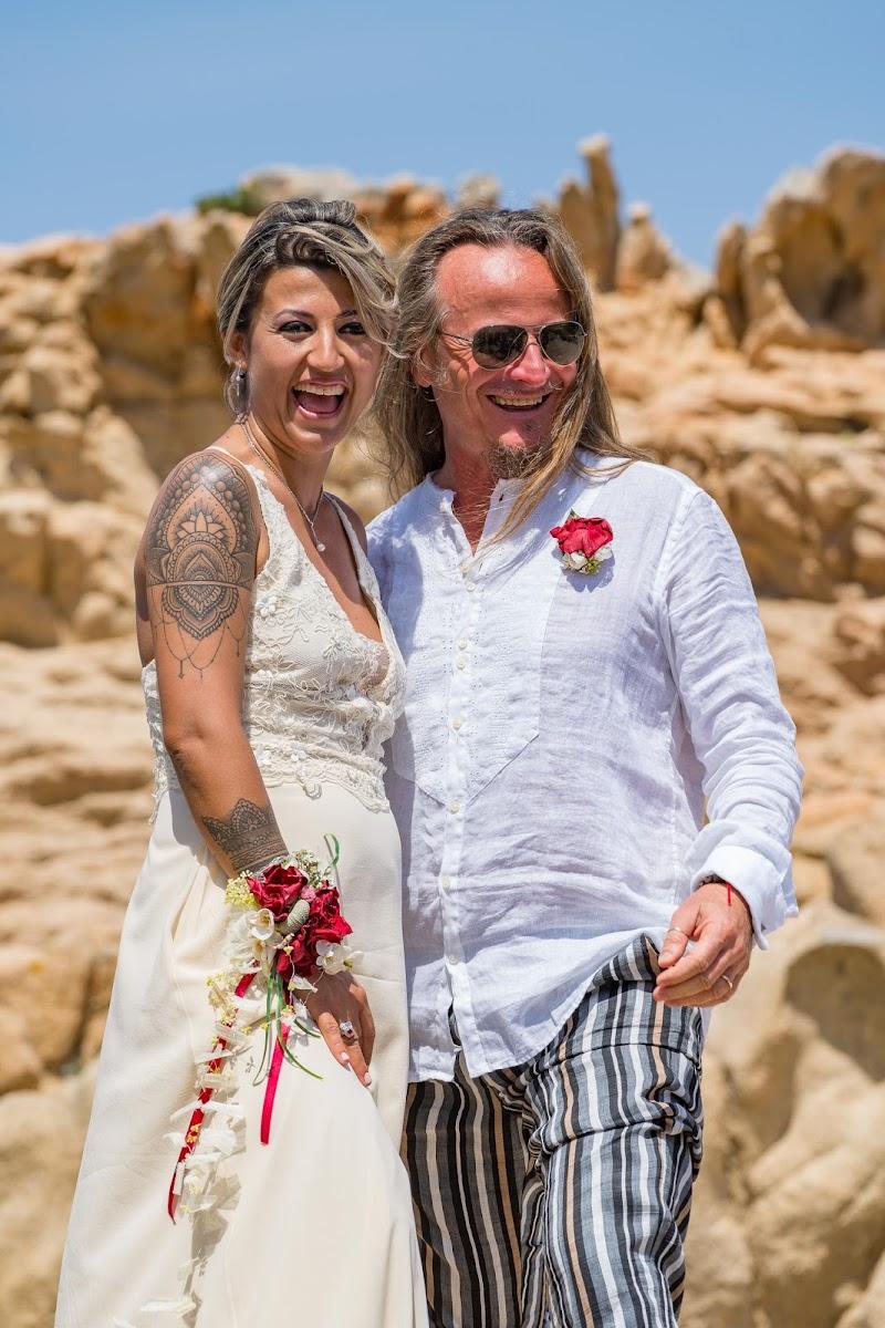 Sposi in spiaggia all'isola di Caprera di Gab68