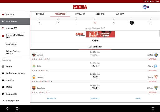 MARCA - Diario Lu00edder Deportivo 6.1.17 screenshots 8