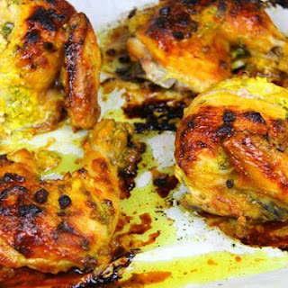 Oven Roasted Curry Chicken Recipe.