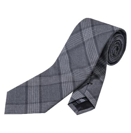 Oscar Jacobson slips grå rutor ull