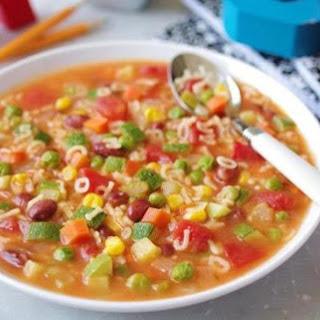 Recipe For Alphabet Soup