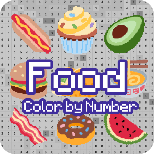 Color By Number Food Food Coloring Pixel Art Aplicacions