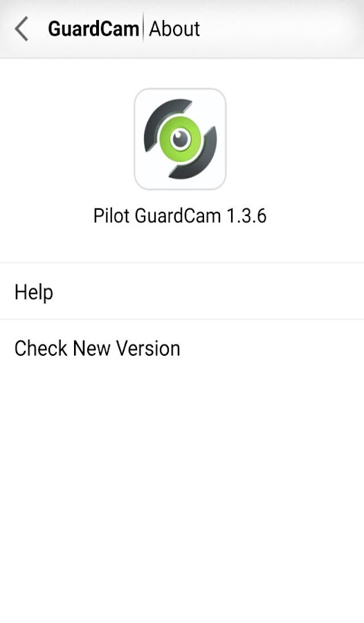 Pilot GuardCam- screenshot