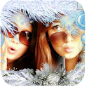 Photo Frame Winter icon
