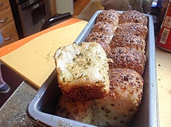 Garlic Parmesan Pull Apart Bread Recipe