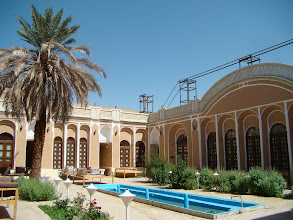 Photo: Nasz hotel w Yazd