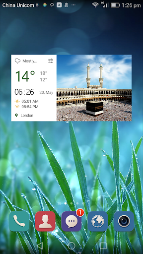 玩天氣App|Weather Click Widget Islam免費|APP試玩