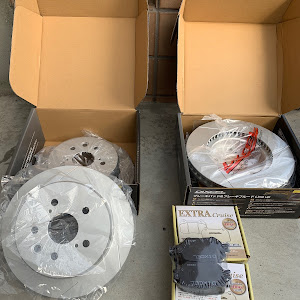 マークX GRX120 19年式の250Gのブレーキローターのカスタム事例画像 やーまさんの2018年12月23日11:43の投稿
