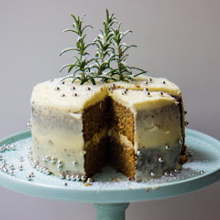 Gingerbread Layer Cake With Cream Cheese Frosting