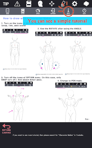 Character Maker -How to draw screenshot 10