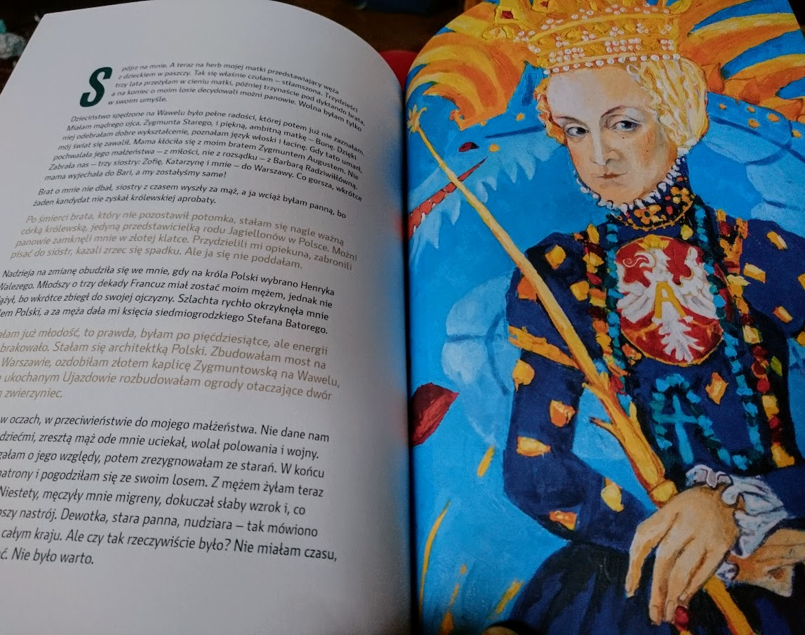 Anna Kaszuba-Dębska, Poczet królowych polskich