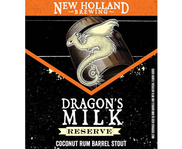 Logo of New Holland Dragons Milk Reserve Brewer's Select