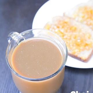 Chai Tea Latte with Lemongrass Essential Oils