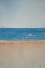 Photo: Beach - 6 x 4 inch watercolor. One only.SOLD